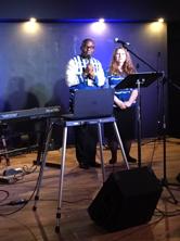 Samson and Jennifer presenting at the 2018 Nashville Gathering